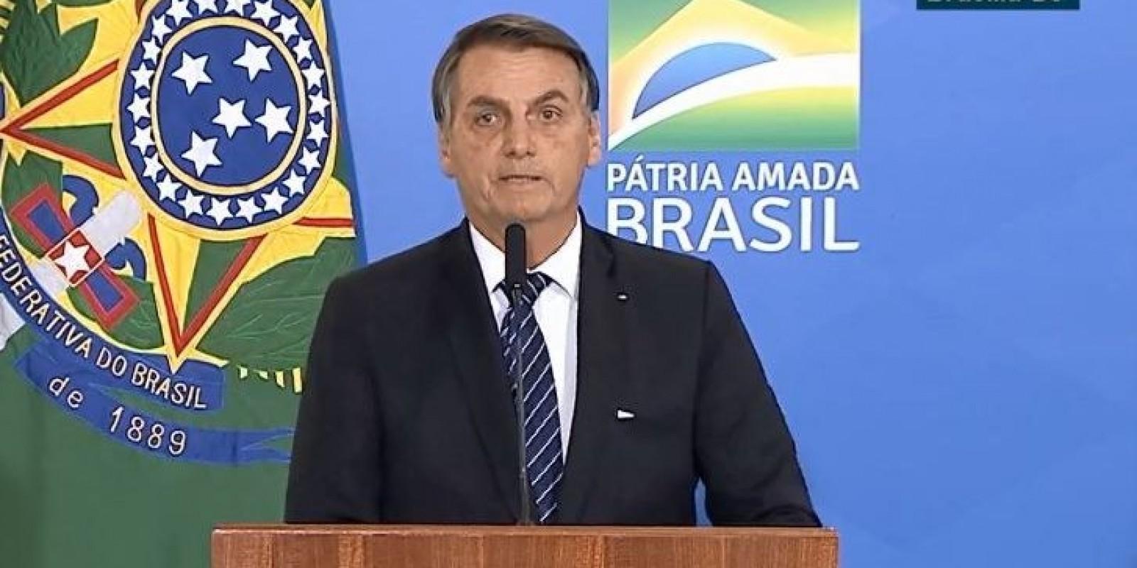 Vídeo: Bolsonaro assina MP que concede 13º pagamento do Bolsa Família