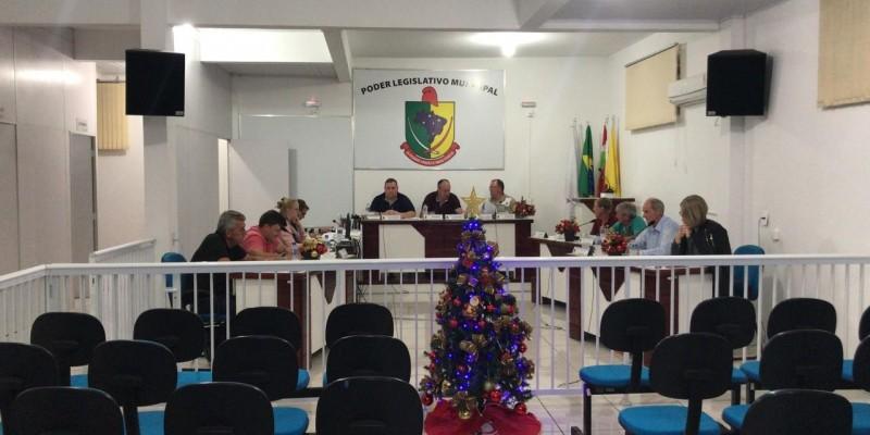 Confira a sessão de terça - feira, 26, na Câmara Municipal de Santa Rosa de Lima