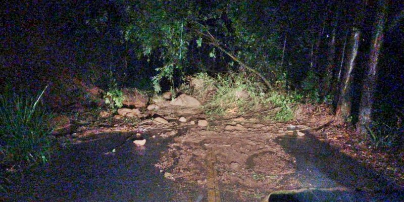 Forte chuva causa transtornos em São Ludgero