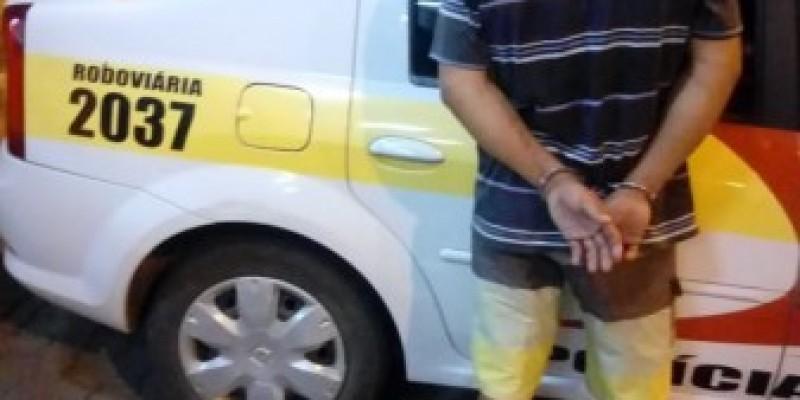Homem com mandado de prisão ativo por homicídio e ocultação de cadáver é preso em Cocal do Sul