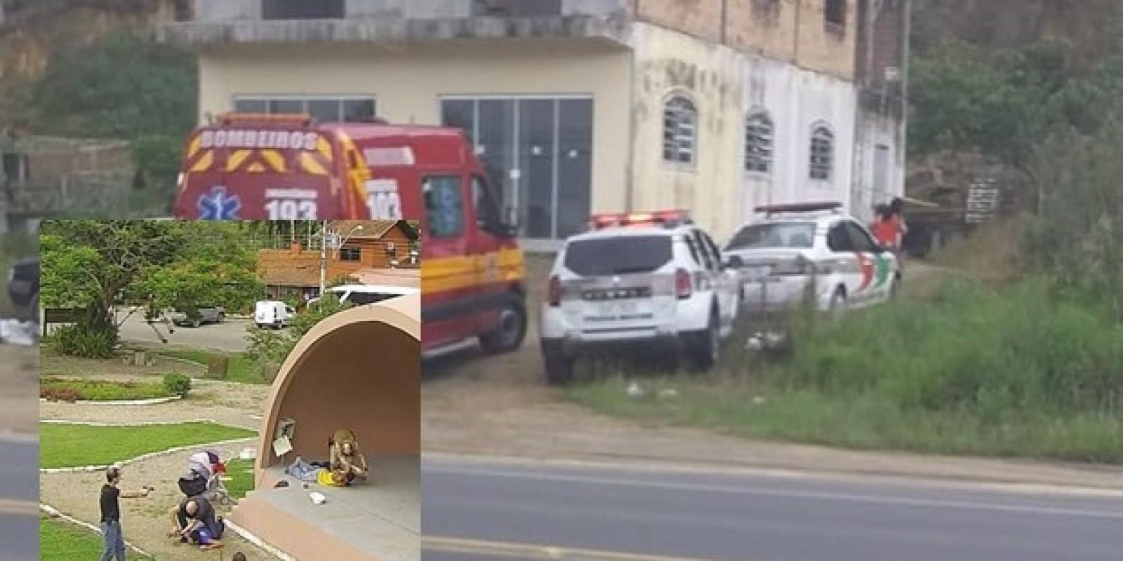 Polícia Militar e Polícia Civil de Gravatal atendem ocorrência de homicídio e prendem autores do crime