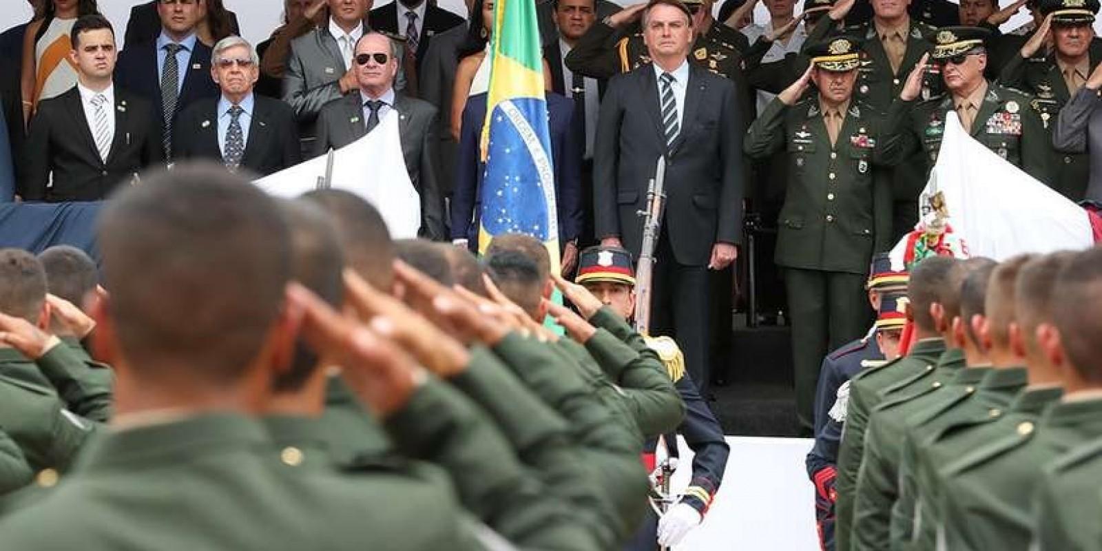 PF prende suspeito de planejar atentado contra Jair Bolsonaro