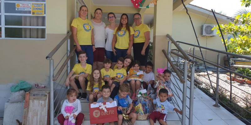 Projeto Padrinhos Mágicos do Clube dos Leõezinhos de São Ludgero deixa natal de crianças mais feliz