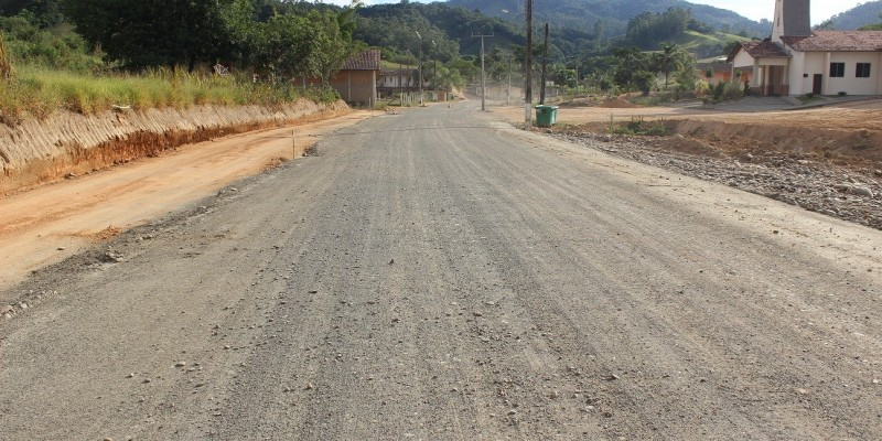 Rua Hermínio Baggio no bairro Santo Antônio receberá mais 280 metros de pavimentação