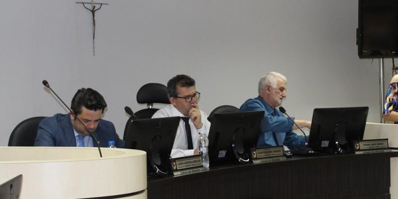 Vereador Valentin Bardini assume a presidência do Legislativo de Orleans