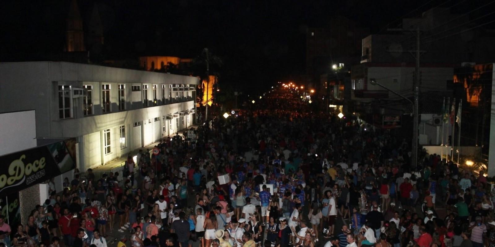 14 de fevereiro: definida a data do Carnaval de Rua de Braço do Norte