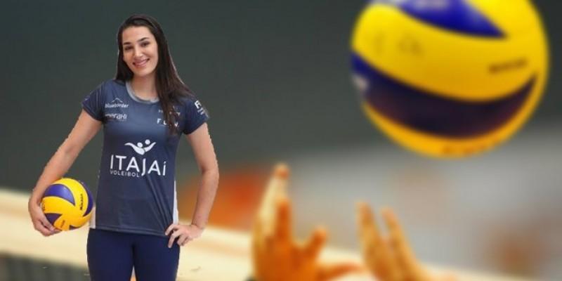 Atleta da nossa região, Natália Pereira Danielski se destaca no voleibol nacional