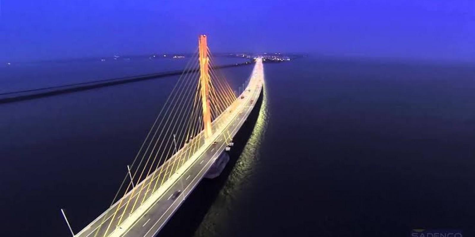 Concessionária deverá assumir a iluminação de ponte