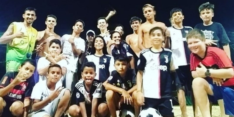 Não é só futebol! É amizade, respeito, alegria e paixão