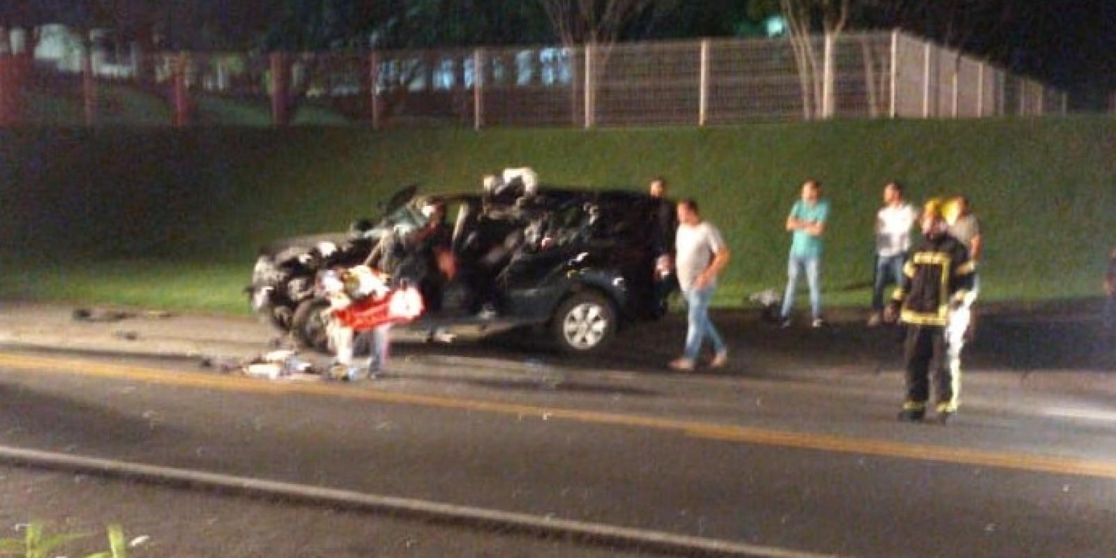 Empresário de Orleans fica gravemente ferido após acidente na SC - 108, em São Ludgero