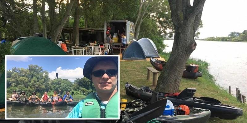 Caiaqueiros estão se deslocando de Grão – Pará à Laguna