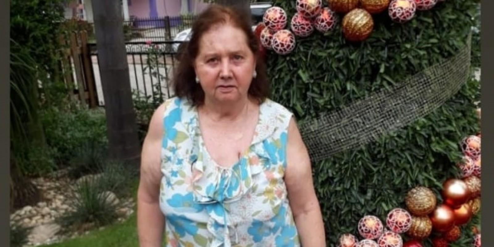 Idosa de São Ludgero está desaparecida