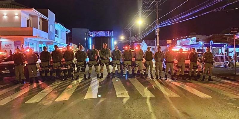 PM de Braço do Norte atua no Carnaval de Rua