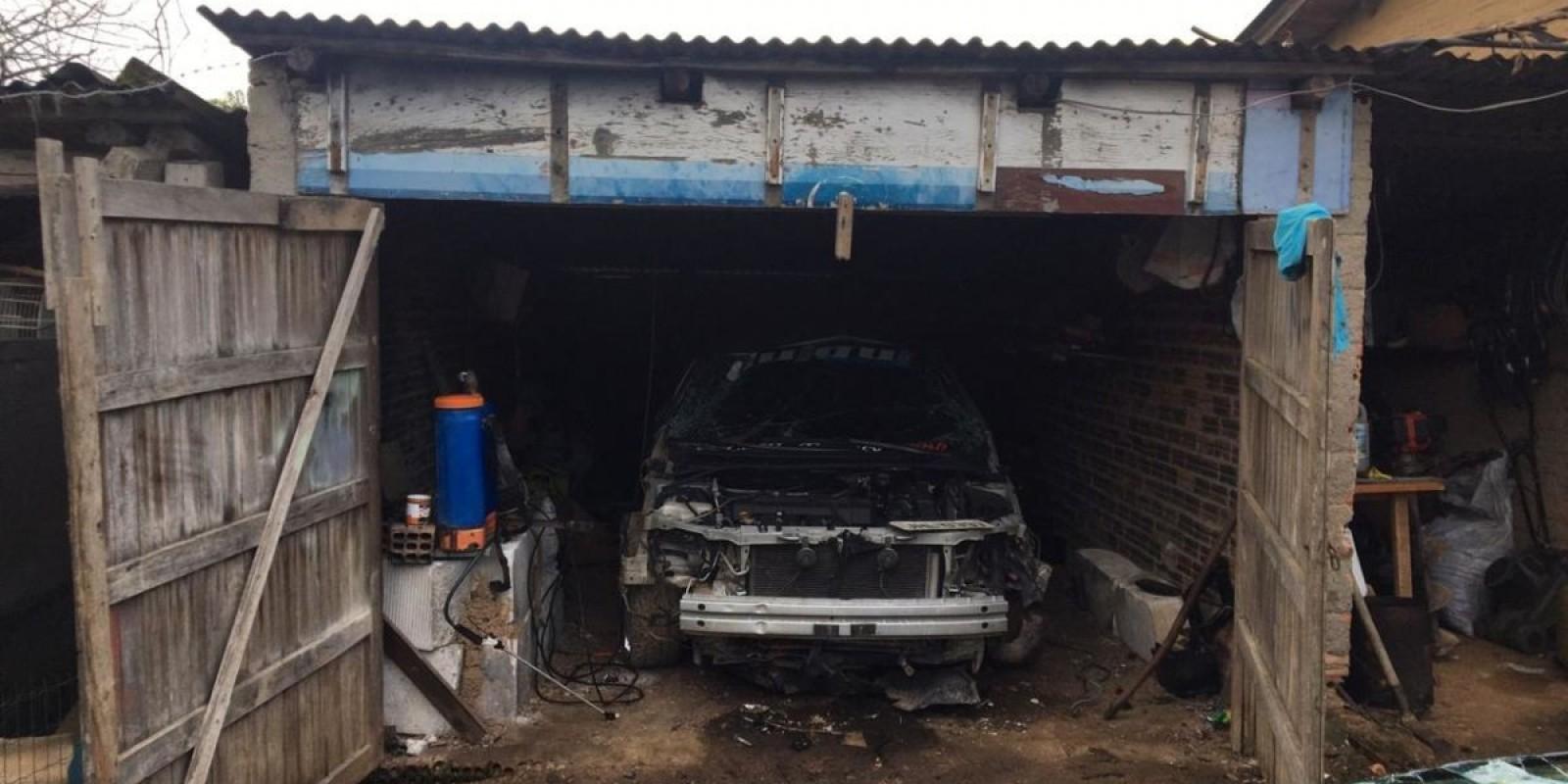 Polícia Militar descobre desmanche de carros em Estação Cocal