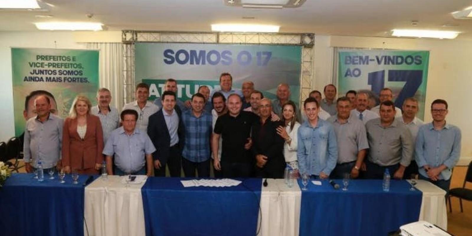 PSL de SC conta com 15 prefeitos filiados