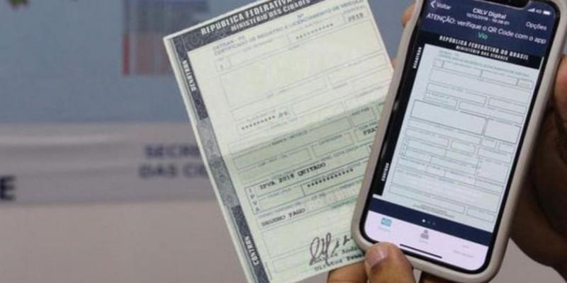 Licenciamento veicular pode ser emitido apenas pela internet