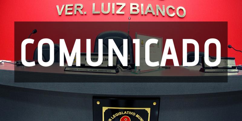 Câmara de Vereadores de São Ludgero adota medidas restritivas