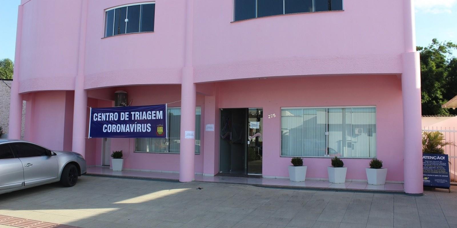 Centro de Triagem Coronavírus de São Ludgero já fez mais de 90 atendimentos