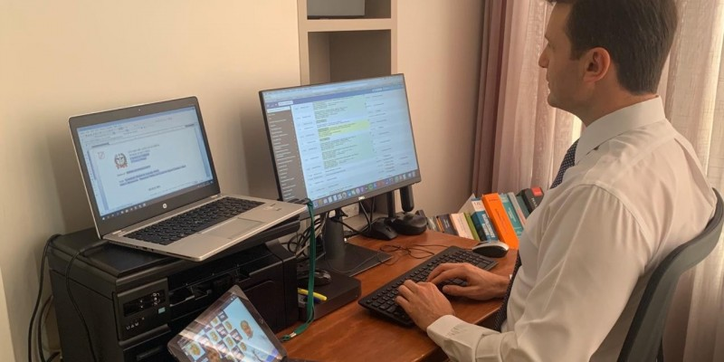 Comarca de Tubarão promove audiência criminal integralmente por videoconferência