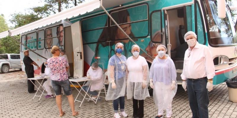 Ônibus da Saúde é lançado e marca início da Campanha de Vacinação 2020 em Lauro Müller