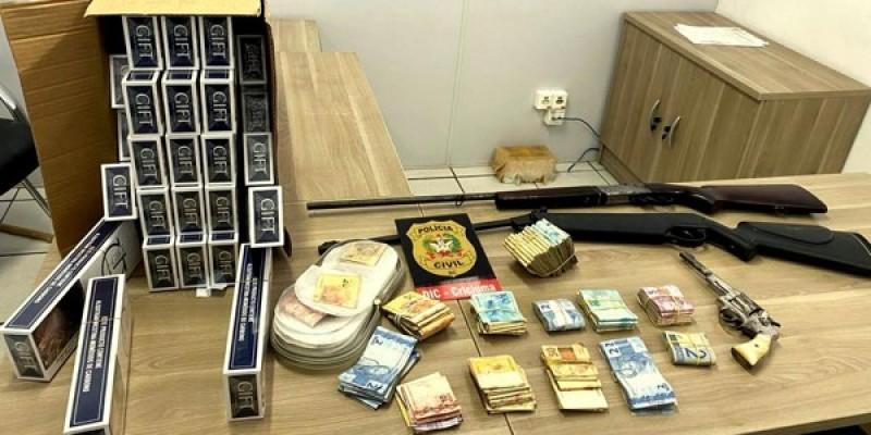 Operação cumpre 18 mandados de prisão no Sul de SC