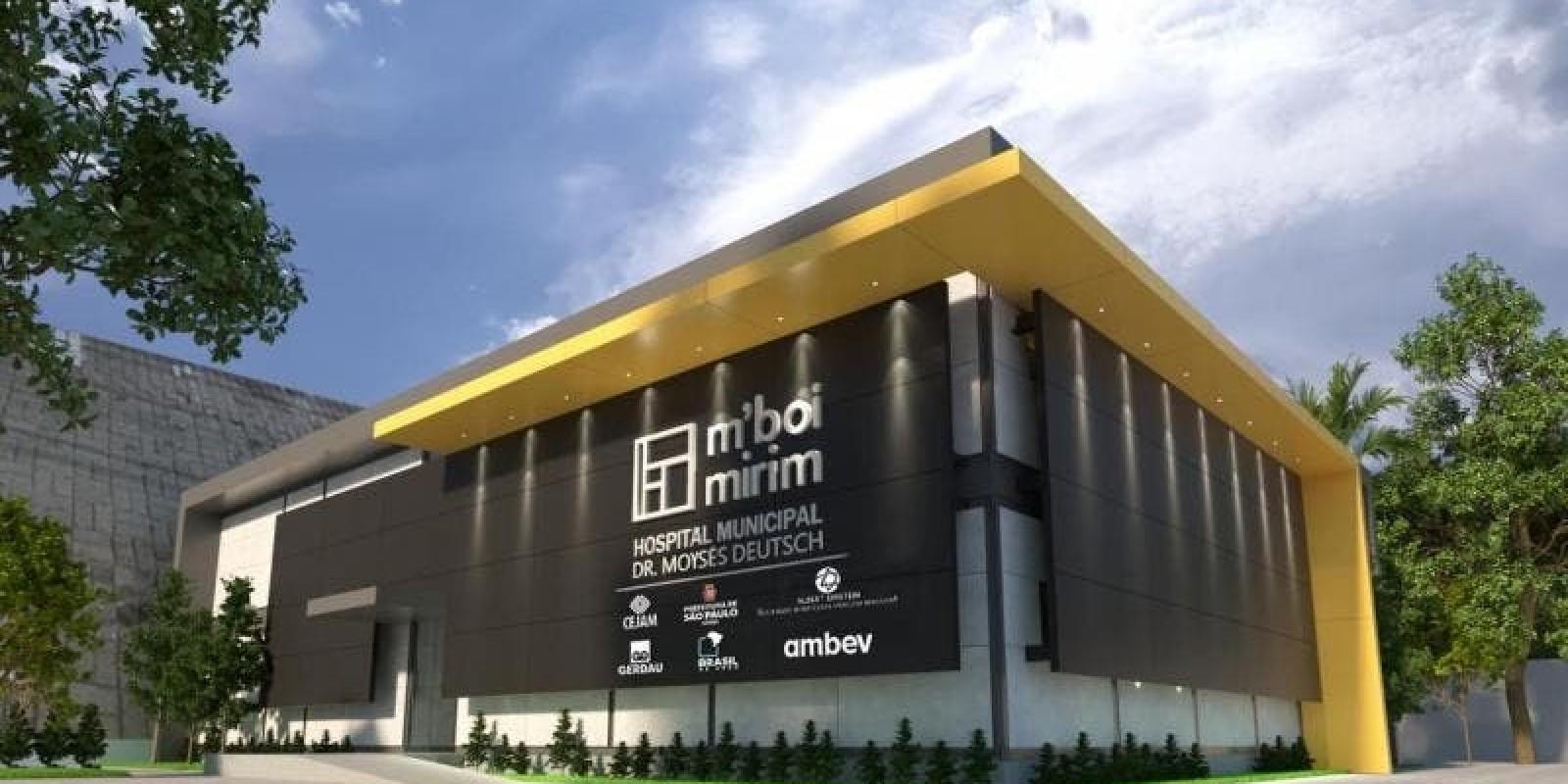 Prefeitura de São Paulo, Ambev, Gerdau e Einstein unem forças para construir hospital público em 40 dias