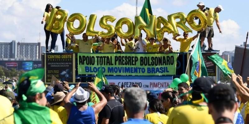 PM solicita que pessoas evitem aglomerações em ato pró-Bolsonaro em Criciúma