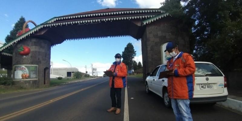 São Joaquim irá implantar Barreiras Sanitárias nos portais de acesso a cidade