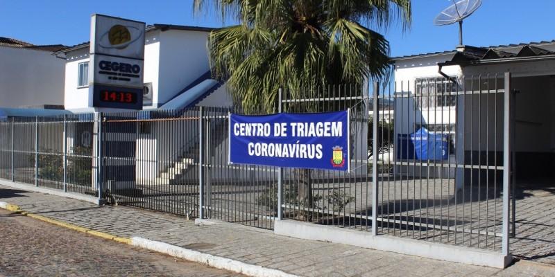 A partir de amanhã, sexta-feira (29 de maio) Centro de Triagem Coronavírus de São Ludgero atendendo em novo local