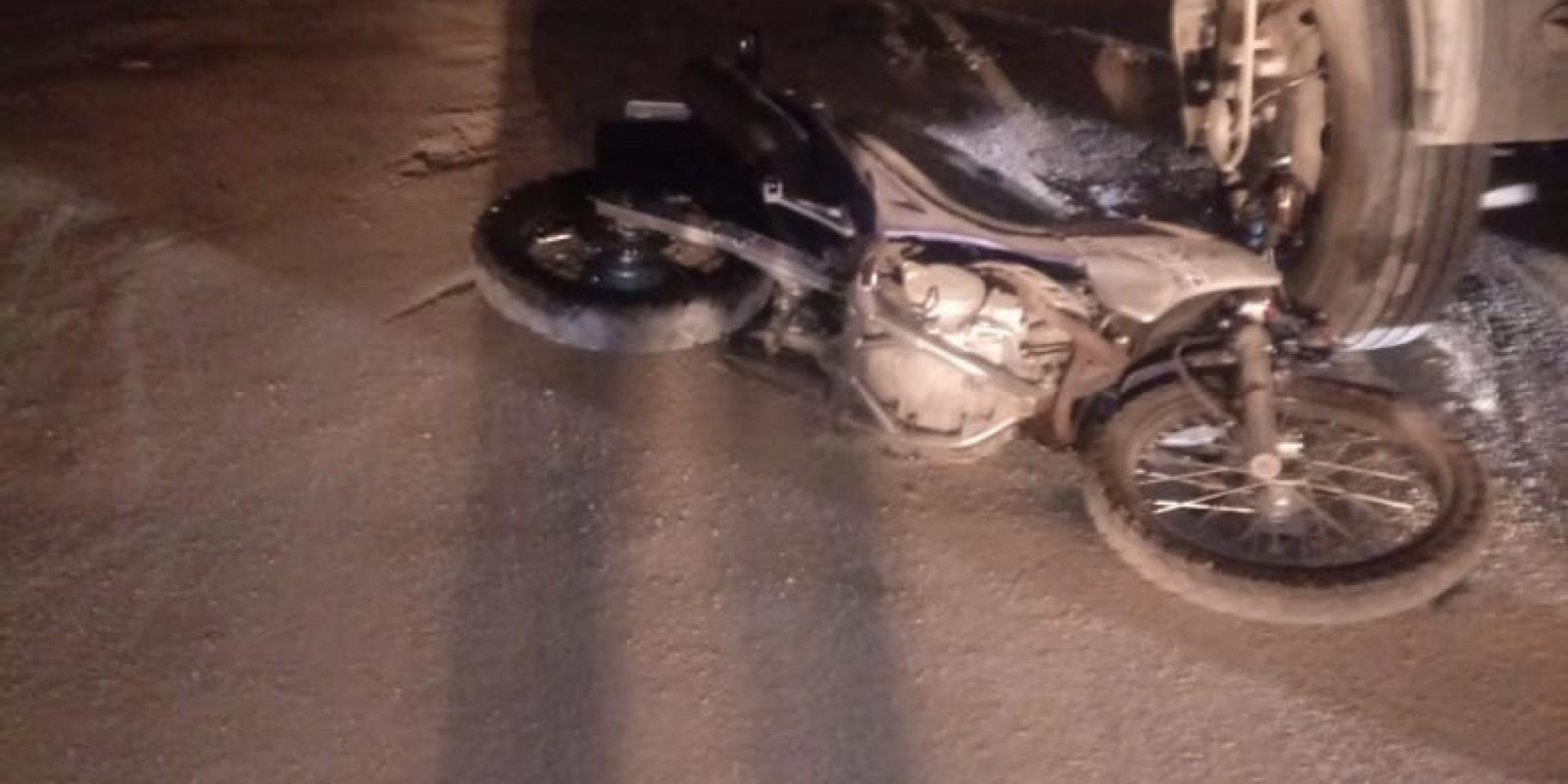 Motociclista de 19 anos morre em acidente, em Lauro Müller