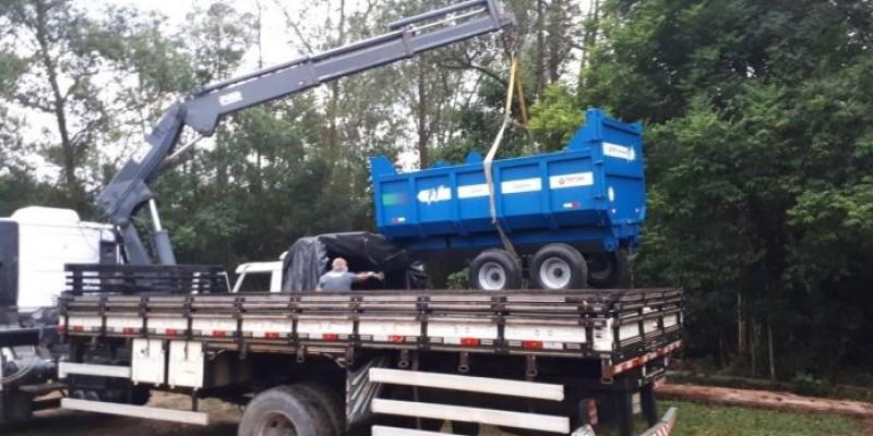 Operação resulta em prisão e apreensão de máquinas agrícolas em Braço do Norte