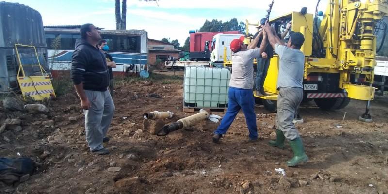 Poços Artesianos começam a ser perfurados em São Joaquim