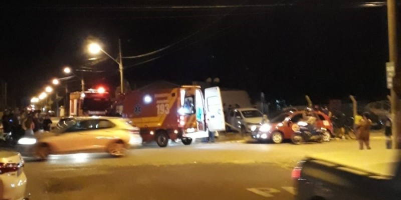 Vídeo: Polícia persegue e prende trio que tentou cometer assalto em Laguna