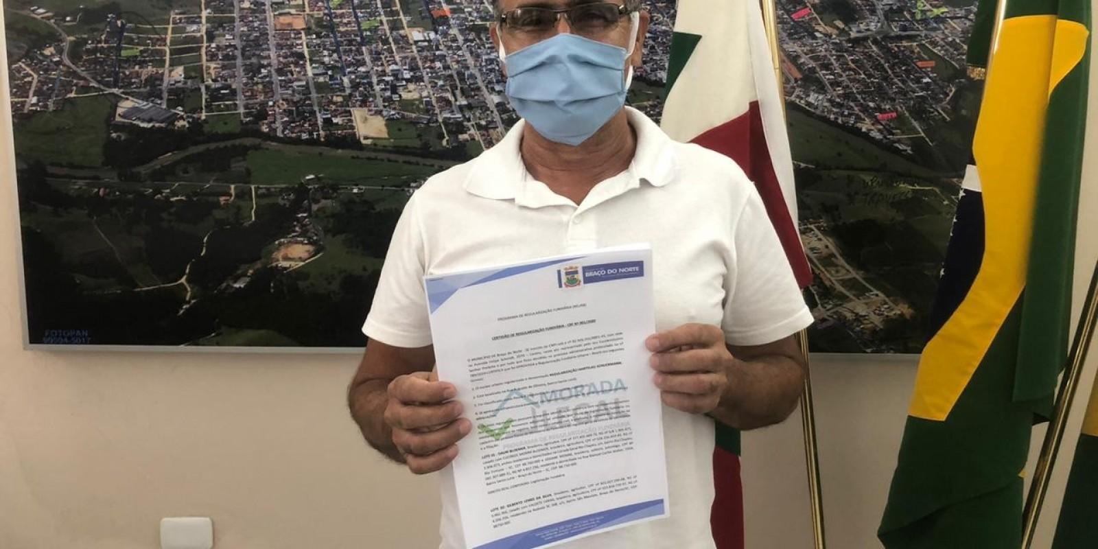 Reurb: 24 terrenos do Bairro Santa Luzia são regularizados