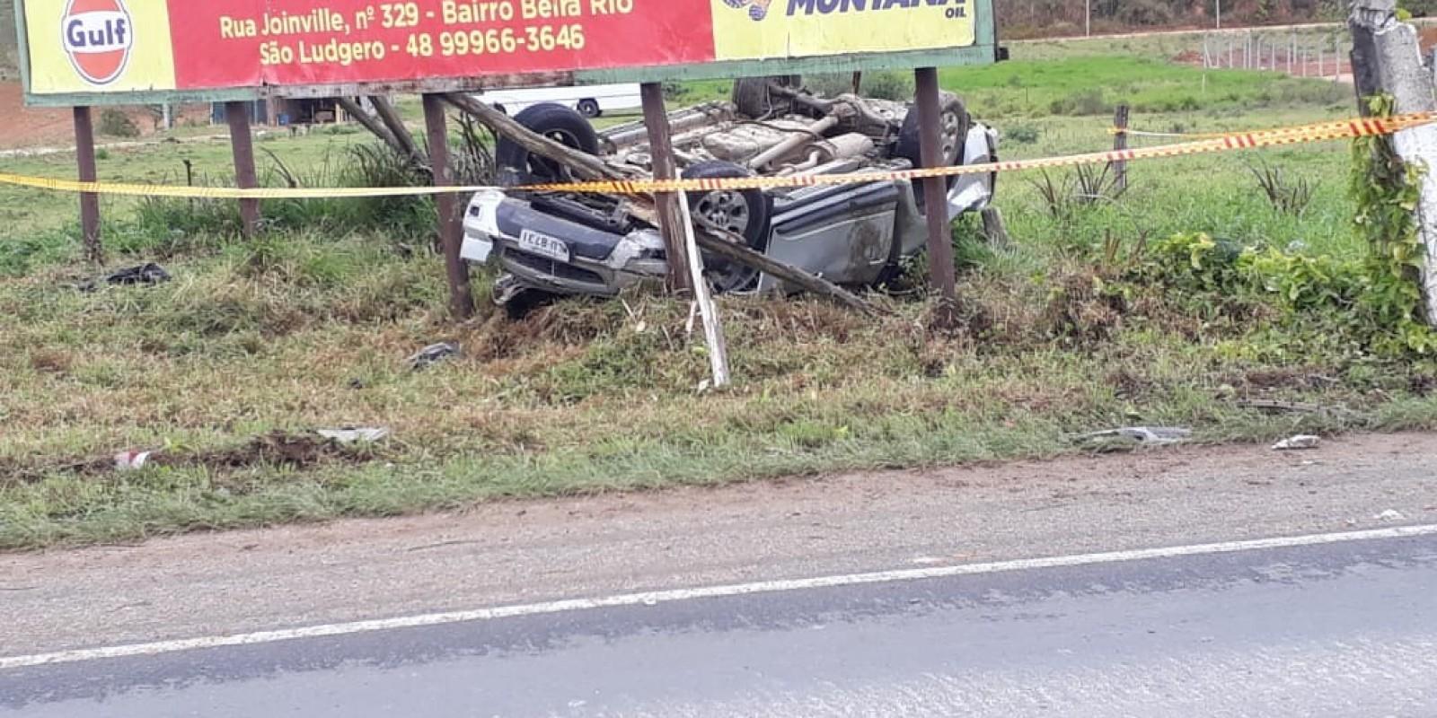 Duas pessoas são encaminhadas ao HST após acidente em São Ludgero