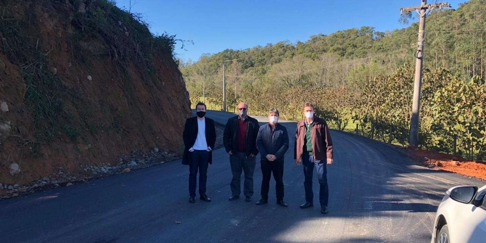 Deputado visita Orleans e sinaliza a liberação de mais 1 milhão de reais ao município