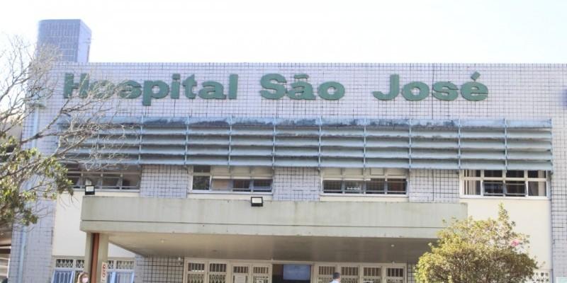 Hospital São José com apenas nove leitos de UTI disponíveis para Covid-19