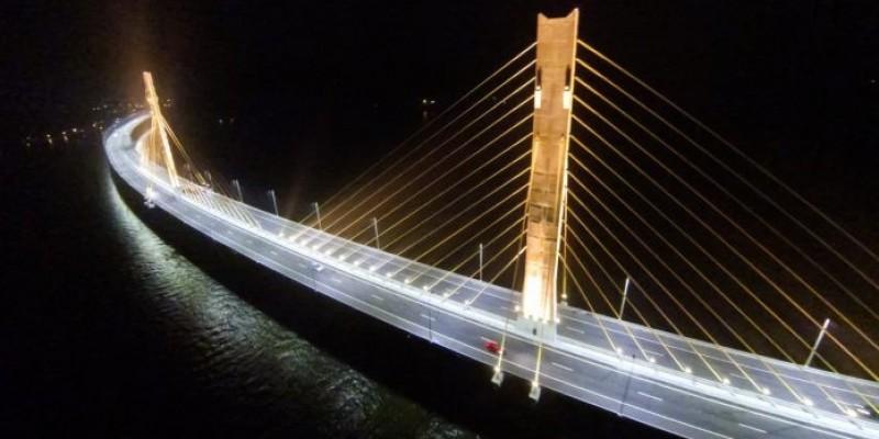 Pedágio deverá pagar a iluminação da ponte Anita Garibaldi