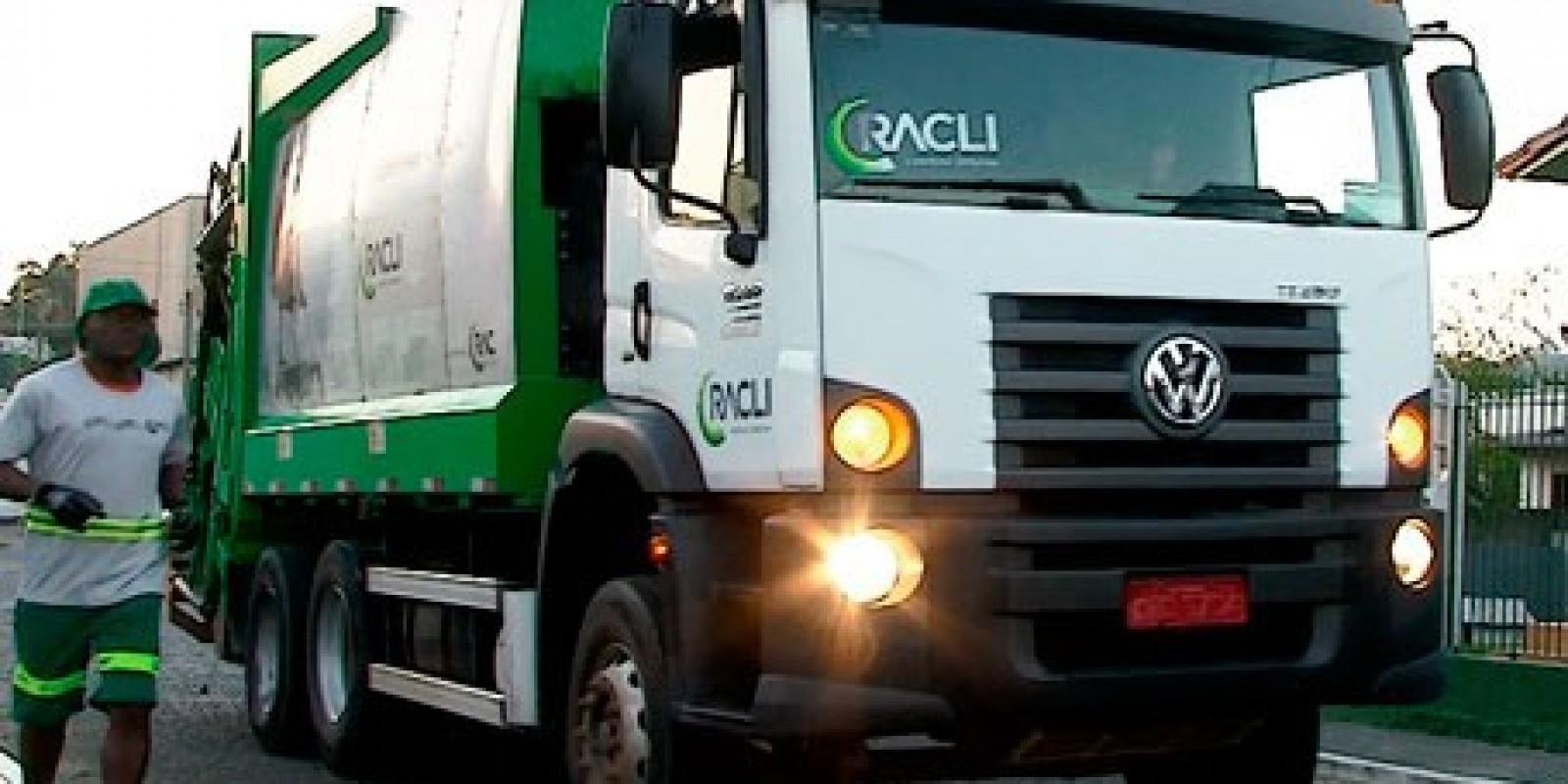 Prefeitura de São Ludgero pede que pessoas coloquem o lixo para coleta apenas no dia do recolhimento