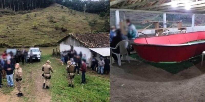 Rinha de galo é flagrada pela PM em São Martinho