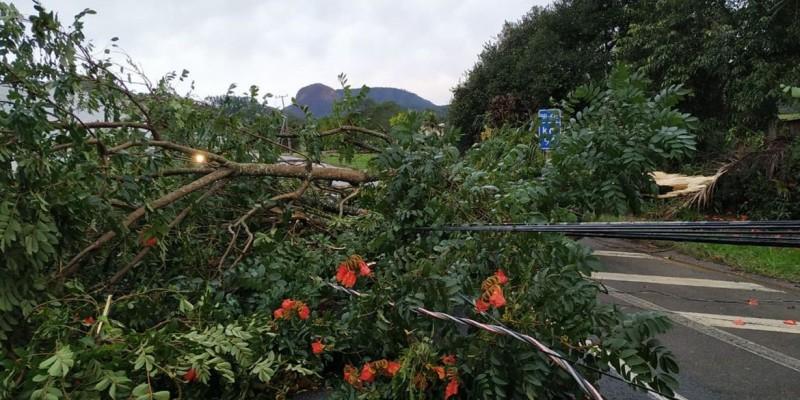 Santa Catarina volta a enfrentar chuvas, ventos e alagamentos