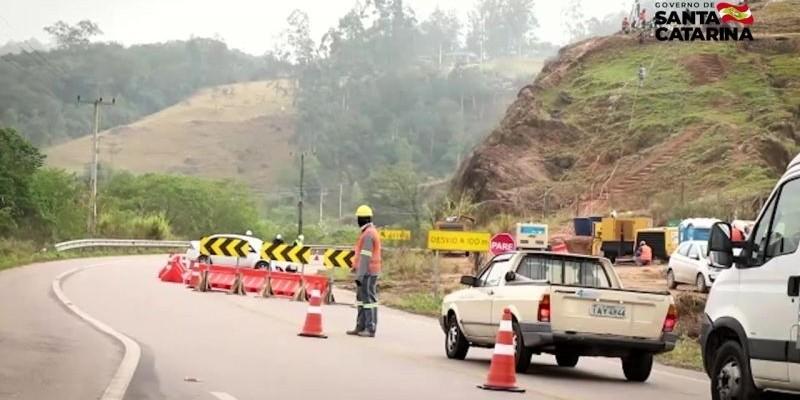Serra terá alterações no tráfego