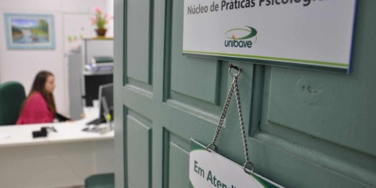 Serviço da Clínica de Psicologia do unibave está aberto à população