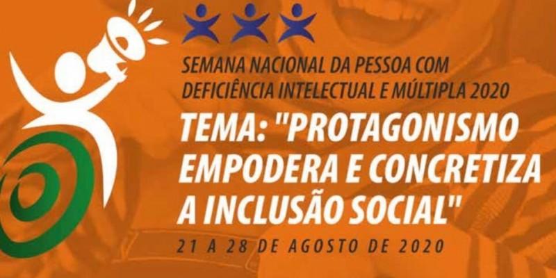 Semana Municipal da Pessoa com Deficiência Intelectual e Múltipla