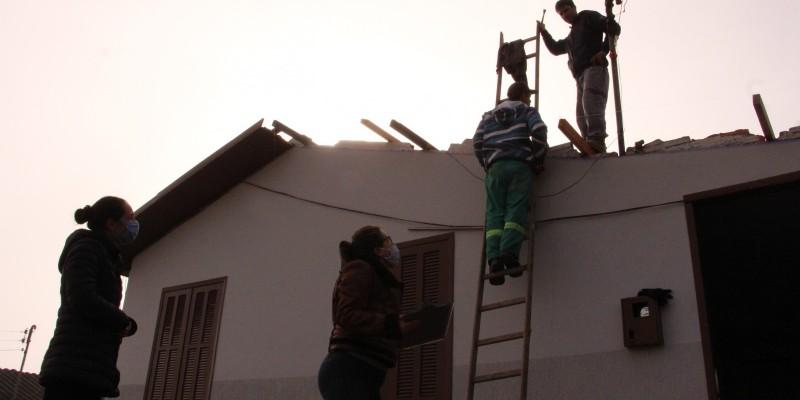 Governo de Lauro Müller e Defesa Civil fazem levantamentos de documentos para liberação do FGTS