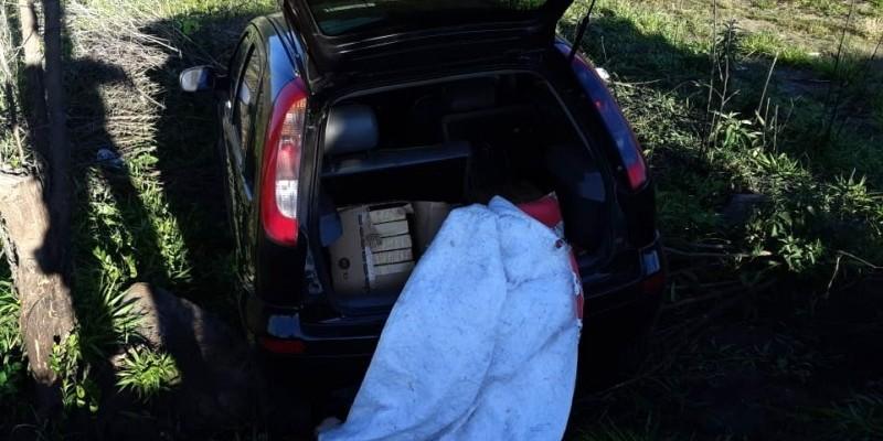 Interceptado carregamento com 98 quilos de maconha; droga seria distribuída na região de Criciúma