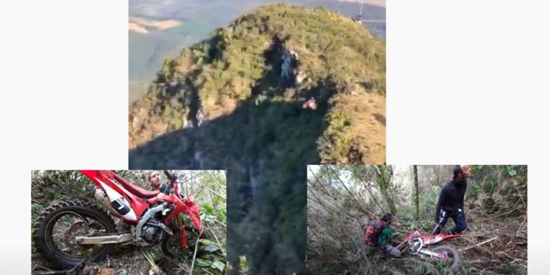 Vídeos: cenas de filme são gravadas na Serra Catarinense
