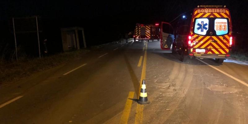 Ciclista de 43 anos morre após ser atropelado na SC-435, em Armazém
