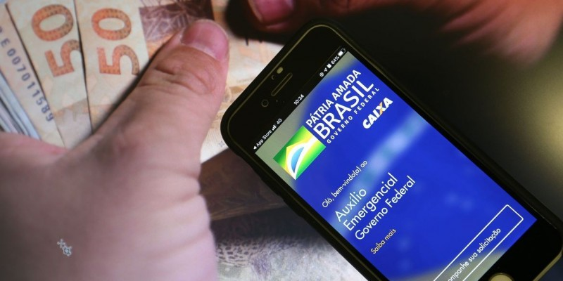 Caixa libera saques do auxílio para 3,8 milhões de beneficiários