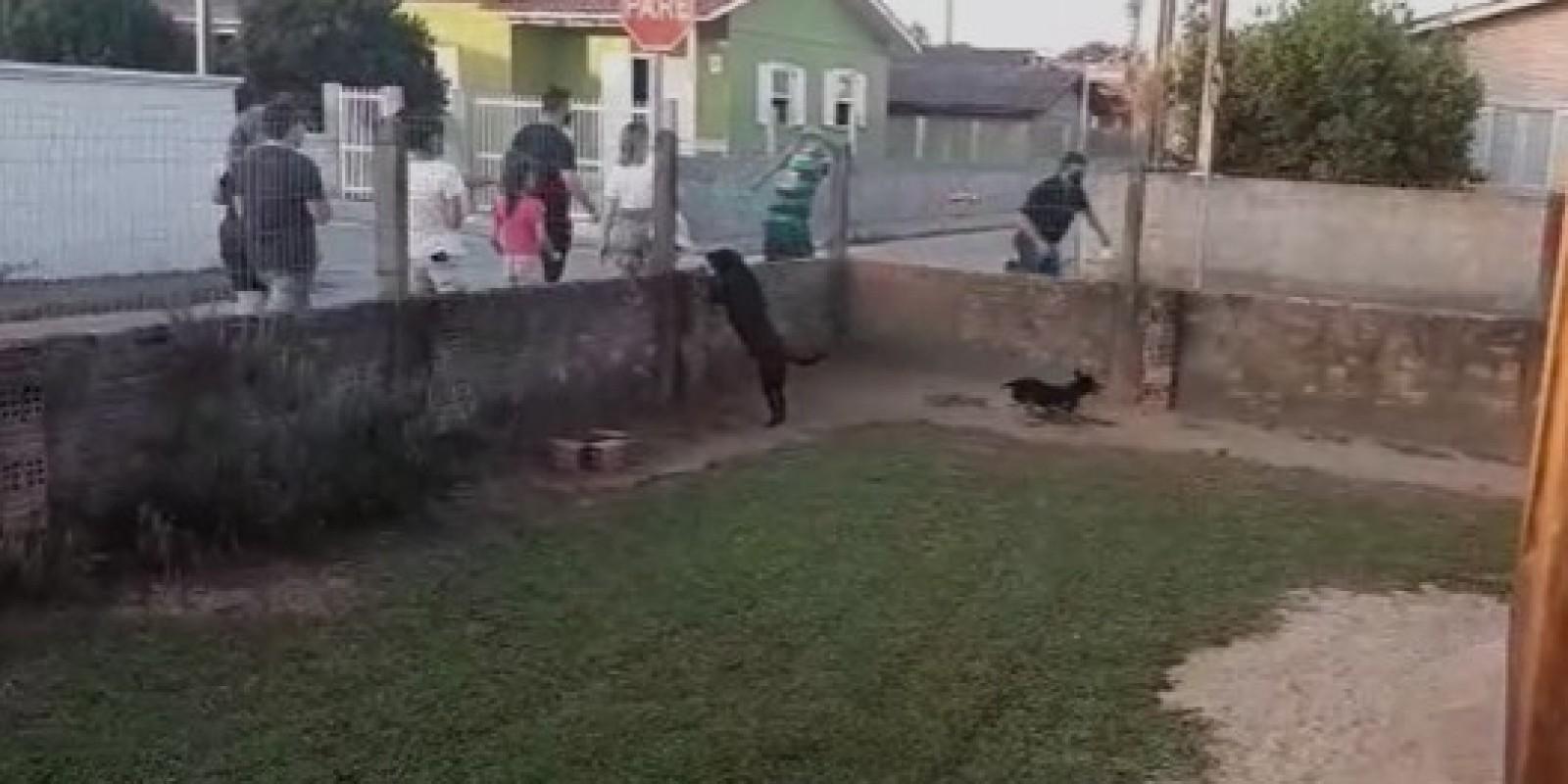 Candidato a vice-prefeito de Içara sofre tentativa de agressão